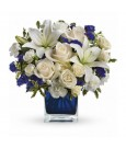 Bouquet ciel de saphir de Teleflora